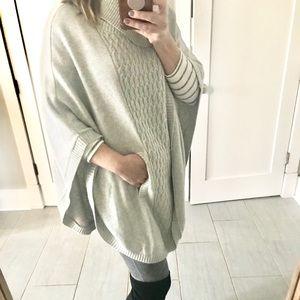 Cabi poncho-light  gray